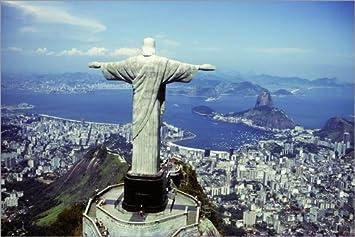 Poster 60 X 40 Cm Christus Statue In Rio De Janeiro Von Sue