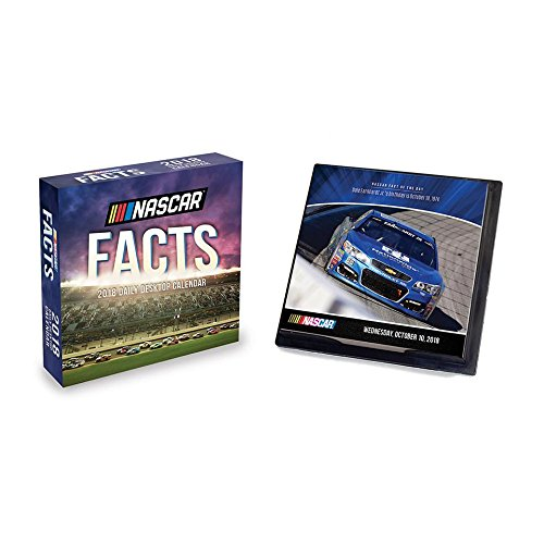 2018 NASCAR Facts Desk Calendar