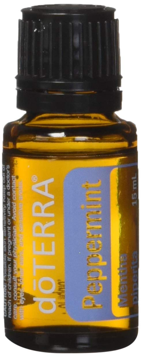 doTERRA Peppermint Essential Oil 15 ml by doTERRA, 2 Pack by doTERRA