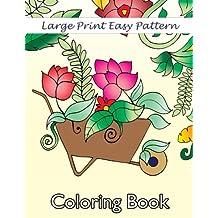 Big libro para colorear de grandes hermosa patrones de impresión (Volumen Premium para colorear Libros) de adultos (de 28)