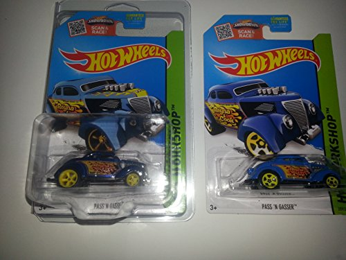 Super Treasure Hunt and Regular Issue!! Hot Wheels PASS N' GASSER! STH Ships in a Protecto Pak! 2 Hot Releases! i! New for 2015 release!!