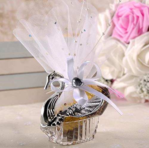 Box Box - Swan Wedding Favor Boxes Gift Creative Selfdom Bomboniere Candy With Voile Decorate Pear Sn1260 - File Cabinet Amiibo 3ds Briefs Er Putty Storage Boy Set