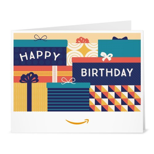 Amazon Gift Card - Print - Birthday Packages (How Do You Download Ca)