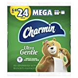 Charmin Ultra Gentle Toilet Paper, 18 Mega Rolls = 72 Regular Rolls (Packaging May Vary)
