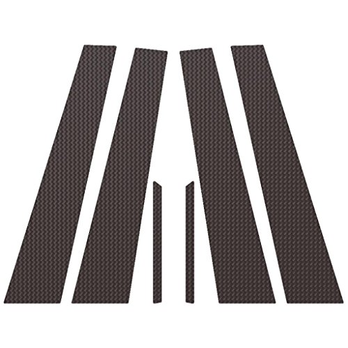 Ferreus Industries Carbon Fiber Pillar Post Trim Cover fits: 2008-2013 Cadillac CTS 4 Door Model PIL-021-CF ()