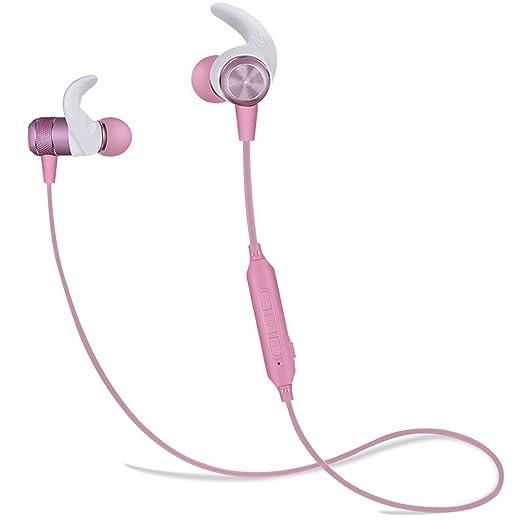 10 opinioni per Auricolare Bluetooth, Borophone BE5 stereo in-orecchio Bluetooth V4.2 Auricolari