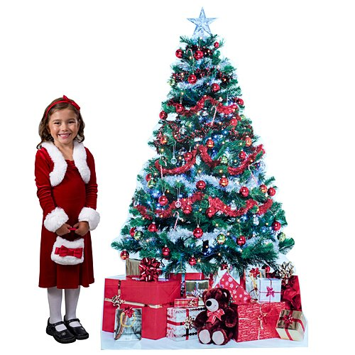 6 ft. 4 in. Christmas Tree & Presents -