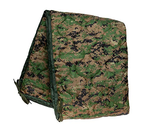 Acme Approved Military Grade Poncho Liner Blanket - Woobie (Marpat-Woodland Digital) ()