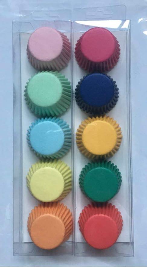 Tick Tocking Moldes para Cupcakes, 200 Unidades, tamaño Mini para ...