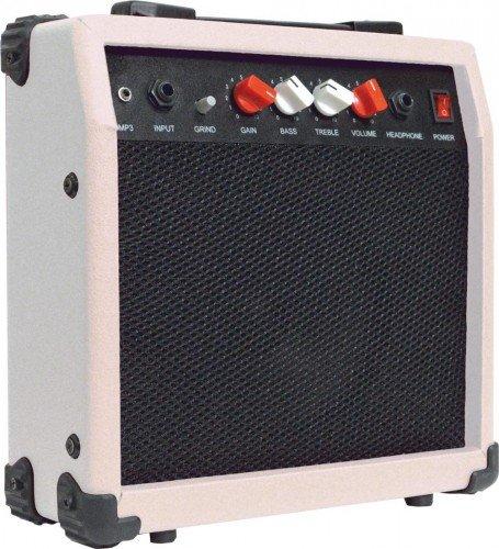 Johnny Brook - Amplificador para guitarra (20 W), color blanco: Amazon.es: Instrumentos musicales