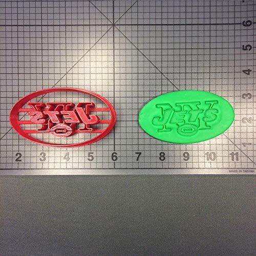 Zoomy Far: League Baseball-Team-Logo Ausstechformenset Maß 3D Printed Kuchen verziert Werkzeug-Fondant-Kuchen-Top Cutter-Biskuit-Form: New York 5inch N8133