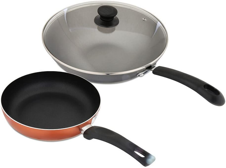 Cast Iron Cookware Non-stick Saucepans Pan Home Outdoor for Gas Induction Hobs