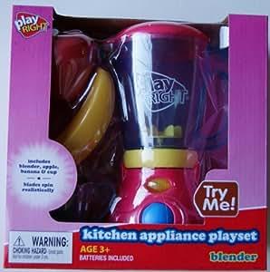 Amazon Com Playright Kitchen Appliance Blender Amp Food