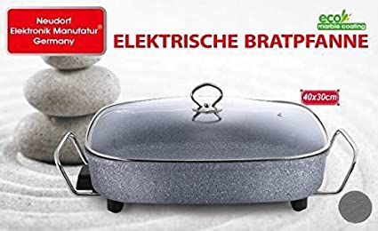 Neudorf Elektronik Manufaktur Bandeja de aluminio fundido, tamaño XXL, una sola pieza, sin chapa añadida (mira la foto comparativa) ...