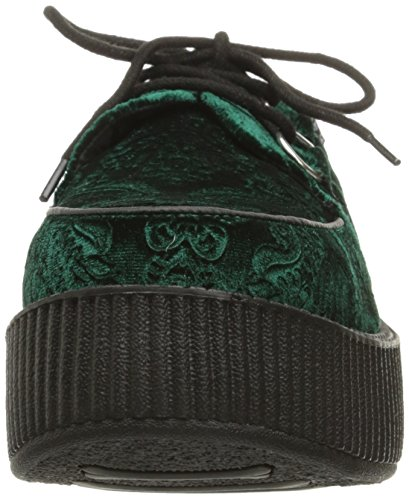 K Shoes Creeper Velvet Viva Emerald T U Women's Green TUqBBz