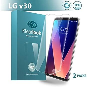 Amazon com: MOOSENG Screen Protector for LG V30/V30+/V30 Plus: Cell