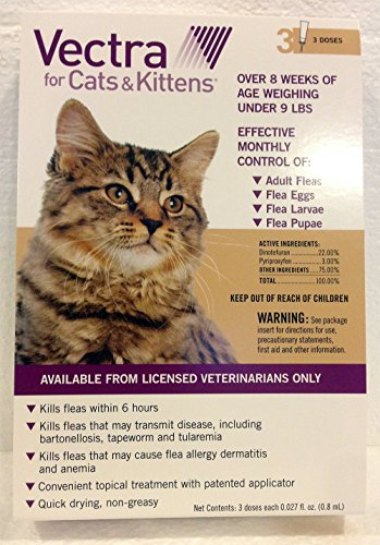 Vectra-for-Cats-Kittens-Under-9-Lbs-3-Dose-by-Unknown