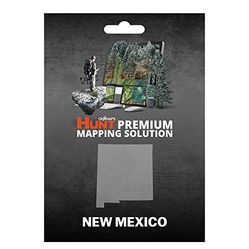 onXmaps HUNT New Mexico: Digital Hunting Map For Garmin GPS + Premium Membership For Smartphone and Computer - Color Coded Land Ownership - 24k Topo - Hunting Specific Data