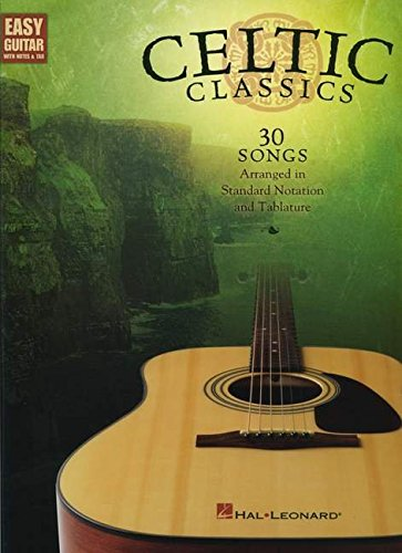 Download Celtic Classics: Easy Guitar with Notes and Tab (Easy Guitar with Notes & Tab) pdf