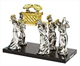 Statue – Ark Of The Covenant w/Priests On Wood Base