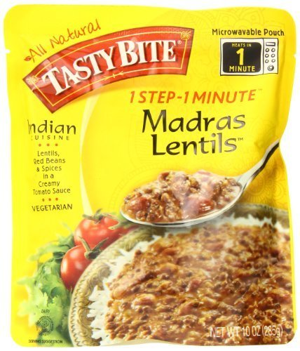 Tasty Bite All Natural Madras Lentils 6 Pack by Tasty Bite