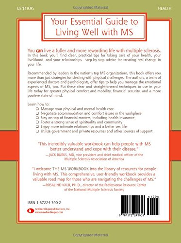 The MS Workbook: Living Fully with Multiple Sclerosis: Robert ...