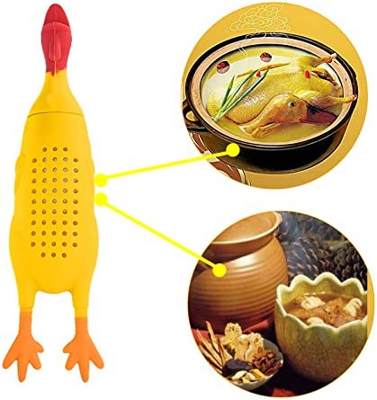 Silicone Chicken Herb Infuser Bouquet Casseroles Soups Stews Cooking Tool Kits