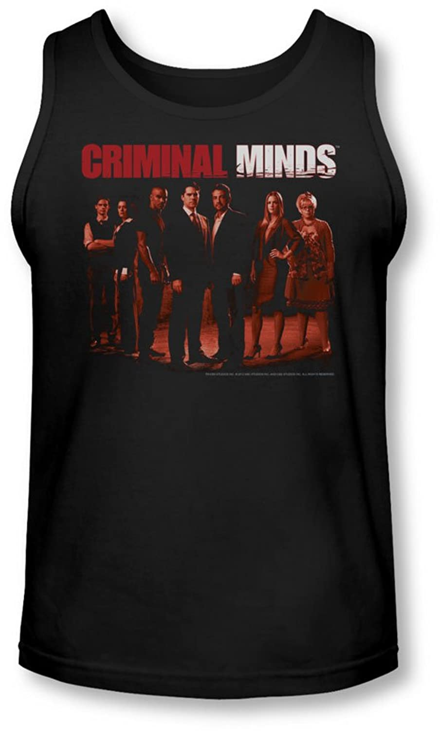 Criminal Minds - Mens The Crew Tank-Top