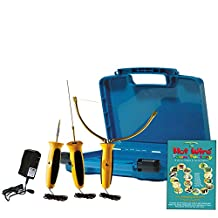 Hot Wire Foam Factory Crafters Deluxe 3-in-1 Sculpting Tool, 4 Inch Hot Knife & Engraving Tool Kit