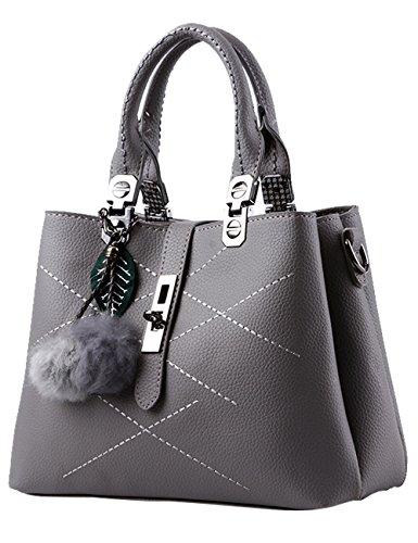 Menschwear Handbag Bolsos De Moda Hombro Diagonal Paquete Bolso Ladies Rojo Gris
