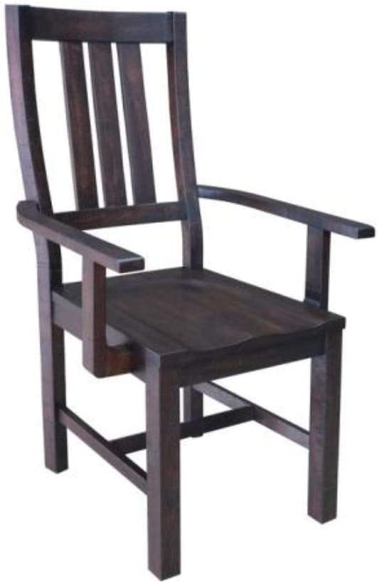 Coaster Home Furnishings Calandra Slat Back Vintage Java (Set of 2) Arm Chair