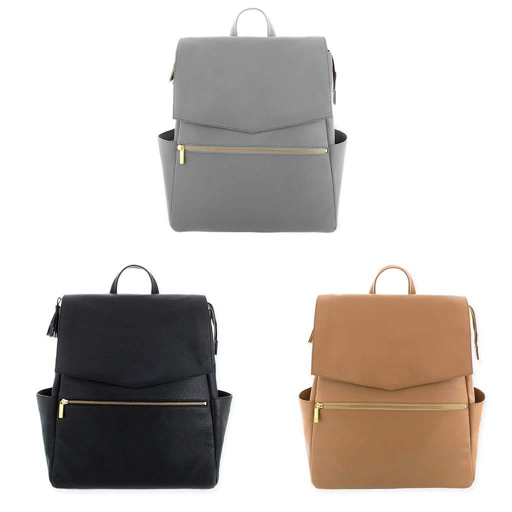 SimpleLife Diaper Tote Bag//Wickelrucksack Handtasche//Damen Leder Mummy Nursing Rucksack Schule Umh/ängetaschen