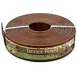 Master Mark Plastics 93340 40-Foot x 3-Inch Terrace Board Landscape Edging - Brown