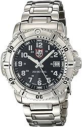 Luminox Women's 7252 Quartz Stainless Steel Black Dial Watch