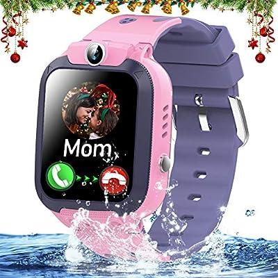 Amazon.com: Kids Smart Watch Phone IP68 Waterproof GPS ...