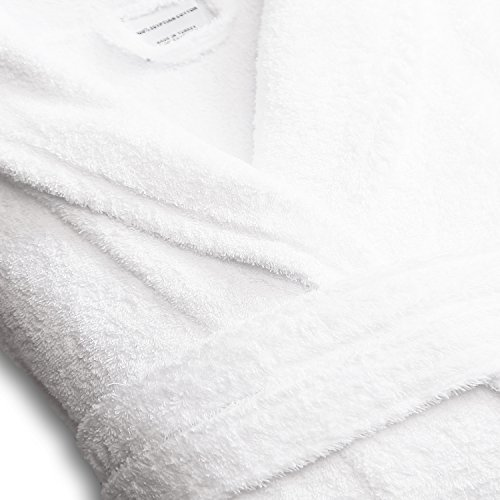 Luxor Linens - Terry Cloth Bathrobes - 100% Egyptian Cotton Same Sex- His & His Bathrobe Set - Luxurious, Soft, Plush Durable Set of Robes - Available with Customized Monogram by Luxor Linens (Image #2)