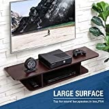 FITUEYES Floating TV Stand Wall Mounted Media