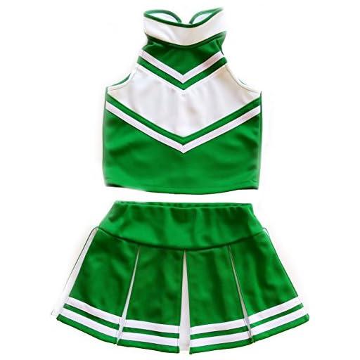 Little Girls' Cheerleader Cheerleading Outfit Uniform Costume Cosplay