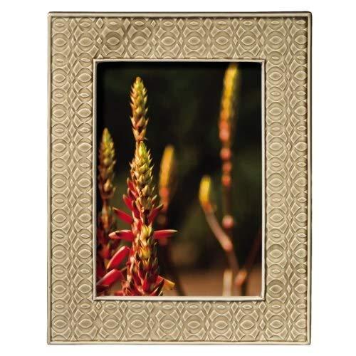 Grasslands Road Everyday Life Sterling Taupe Modern Impressions Ceramic Frame, 5 by 7-Inch