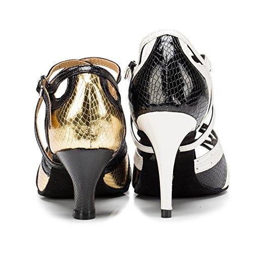 6cm Gold de femme heel Miyoopark bal Salle XwqCxOP4O