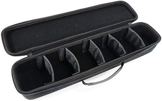 Bolsa de juego de mesa, bolsa de almacenamiento de EVA para juegos de cartas contra la humanidad Paquete de herramientas de juego portátil Viaje Estuche rígido de almacenamiento de transporte Negro: Amazon.es: