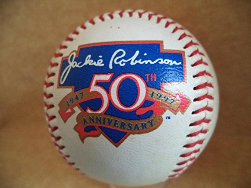 JACKIE ROBINSON 50TH ANNIVERSARY STATS BASEBALL SPECIAL COLLECTIBLE by ALL STAR CARDS & COLLECTIBLES