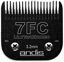 #7 FC Full Tooth Andis UltraEdge+ Blade - 1/8\