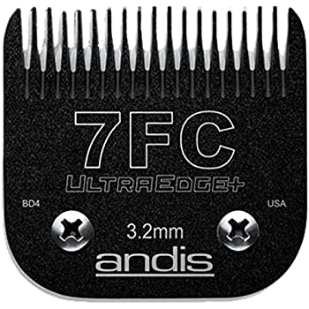 "#7 FC Full Tooth Andis UltraEdge+ Blade - 1/8"" Hair (65815)"