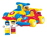 : WOW The Turbo Twins - Racing Cars (4 Piece Set)