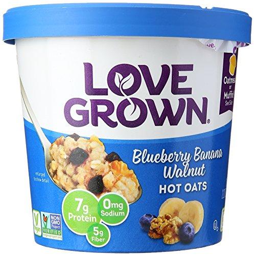 LOVE GROWN Oats Hot Blueberry Banana Walnut Nat, 2.22 oz