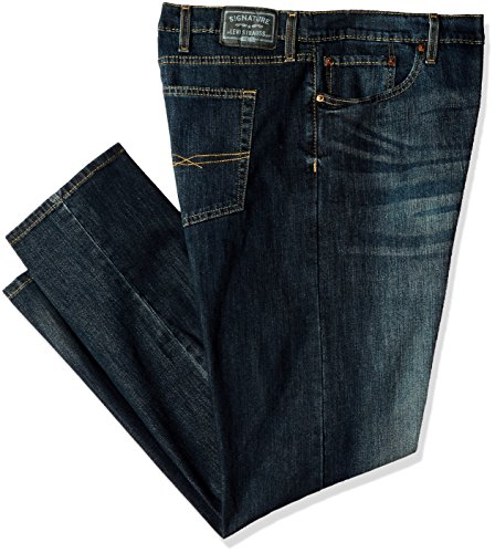 Signature by Levi Strauss & Co. Gold Label Mens Big and Tall Slim Straight Fit Jeans