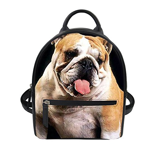 Nopersonality - Bolso al hombro para mujer Amarillo Dog 2 Dog 2