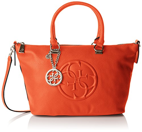 Unique Orange Guess Main Femme À Taille Crush Satchel Korry Epwdq11