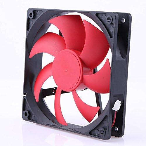 Ventilador de refrigeración de 2 pines para PC, 12 cm, 120 mm, 12 ...